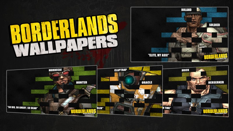 Borderlands Legacy Wallpaper Collection