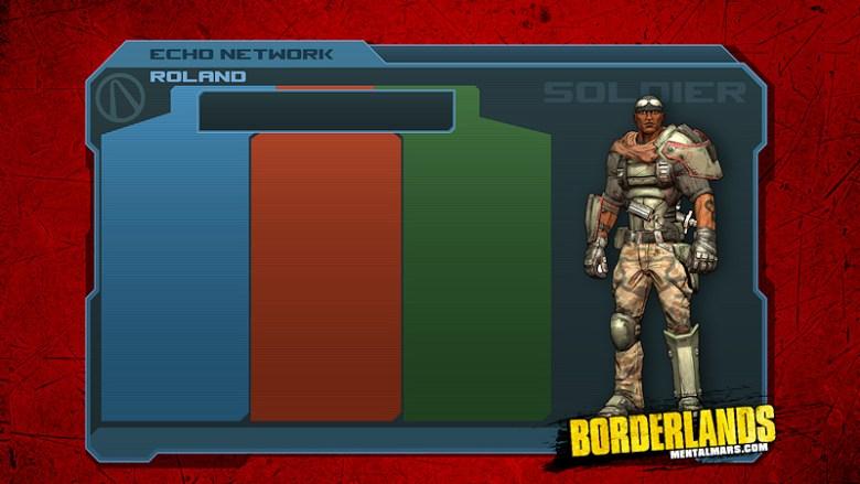 Borderlands - Roland Skill Tree Wallpaper