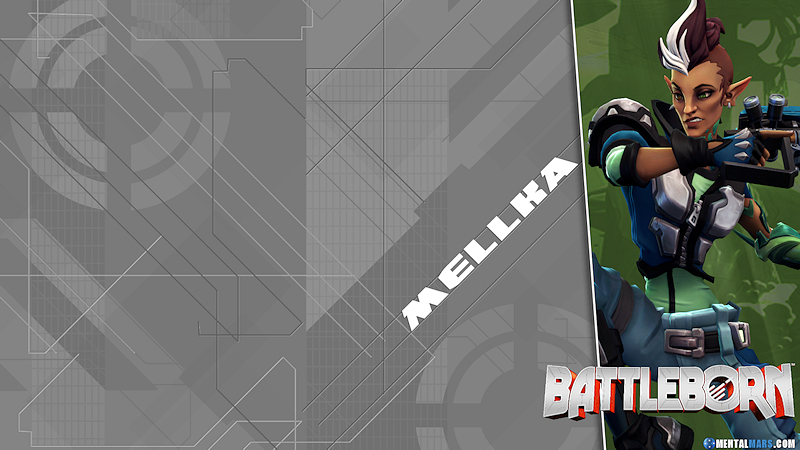Battleborn Blade Wallpaper - Mellka