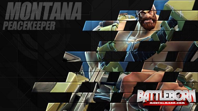 Battleborn Champion Wallpaper - Montana