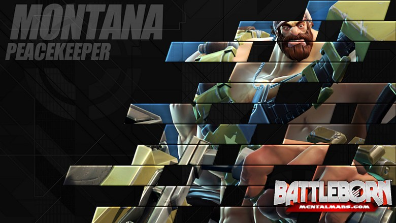 Battleborn Champion Wallpaper - Montana