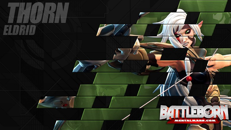 Battleborn Champion Wallpaper - Thorn