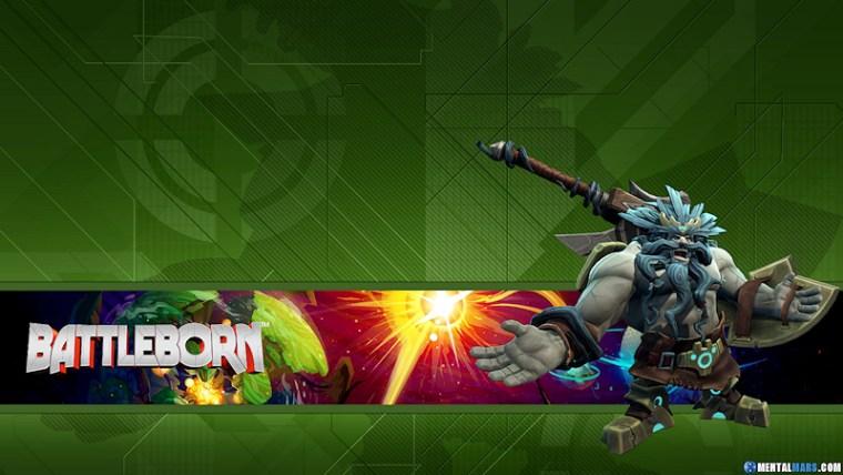 Battleborn Hero Wallpaper - Boldur