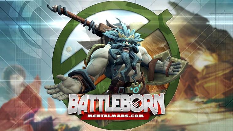 Battleborn Legends Wallpaper - Boldur