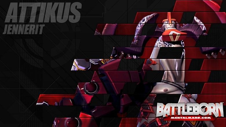 Battleborn Champion Wallpaper - Attikus