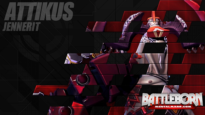 Battleborn Champion Wallpaper - Attikus