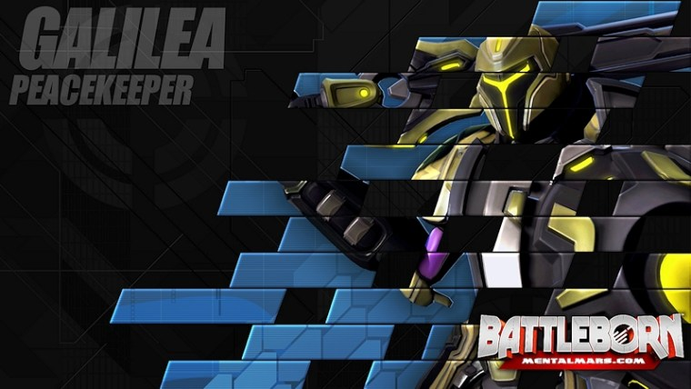 Battleborn Champion Wallpaper - Galilea