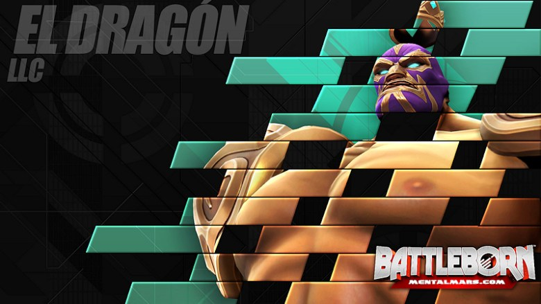 Battleborn Champion Wallpaper - El Dragón