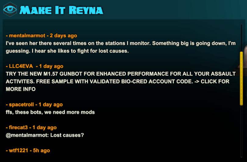 Battleborn Reyna Lore Challenge Unlock