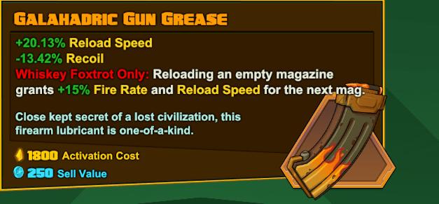 Wiskey Foxtrot - Galahadric Gun Grease