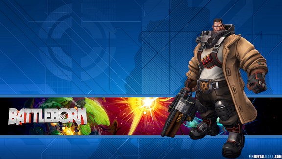 Battleborn Hero Wallpaper - Ghalt
