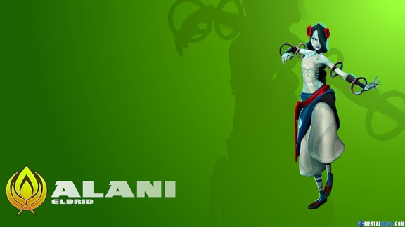 Battleborn Cool Wallpaper - Alani