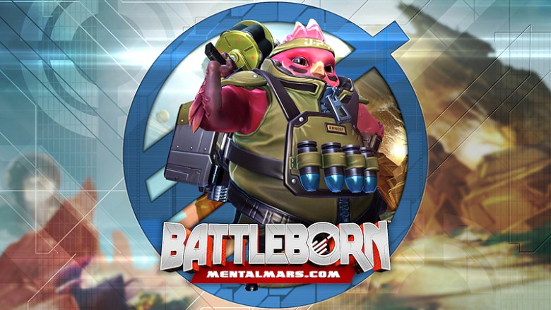 Battleborn Legends Wallpaper - Ernest