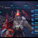 Battleborn New Character UI
