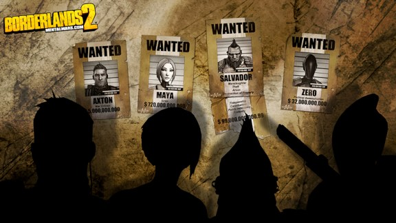 Borderlands 2 Most Wanted Wallpaper