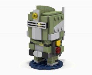 Oscar Mike - Battleborn Lego
