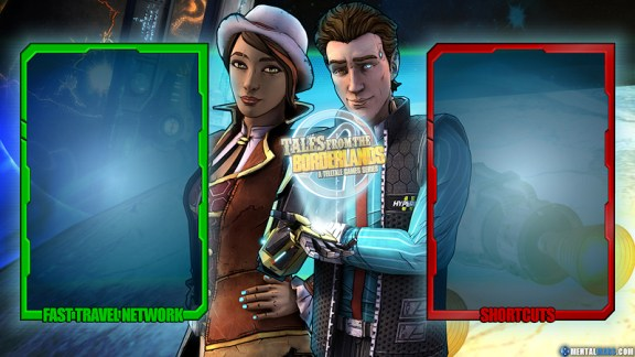 Tales from the Borderlands Interface Wallpaper