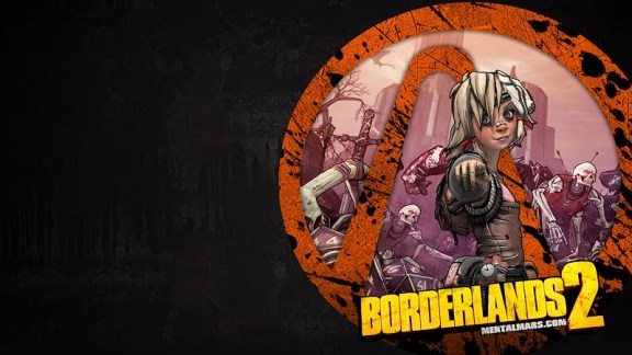 Borderlands 2 Vault Symbol Wallpaper - Tiny Tina - Preview