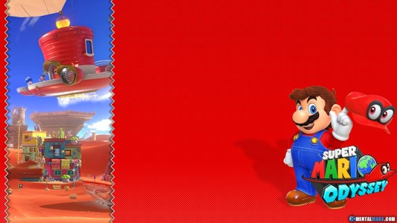 Super Mario Odyssey Wallpaper - Preview