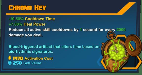 Chrono Key - Battleborn Legendary Gear