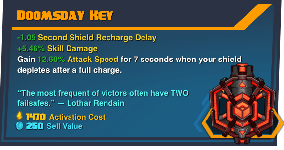Doomsday Key - Battleborn Legendary Gear