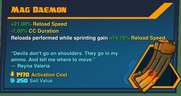 Mag Daemon - Battleborn Legendary Gear