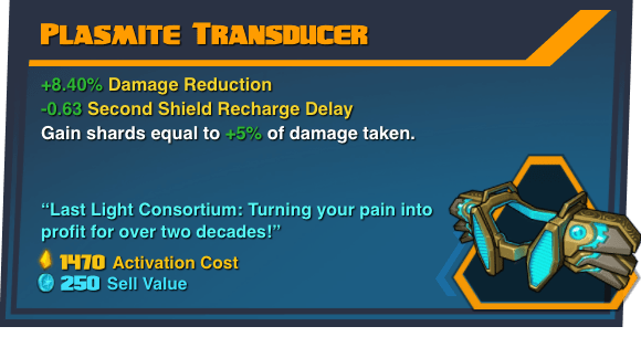 Plasmite Transducer - Battleborn Legendary Gear