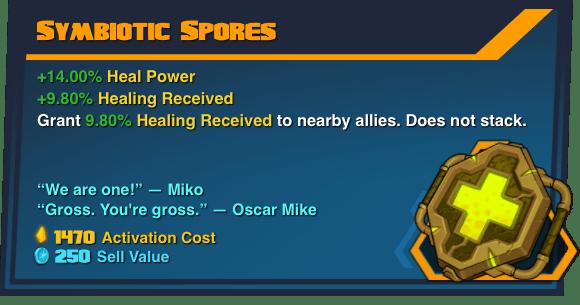 Symbiotic Spores - Battleborn Legendary Gear