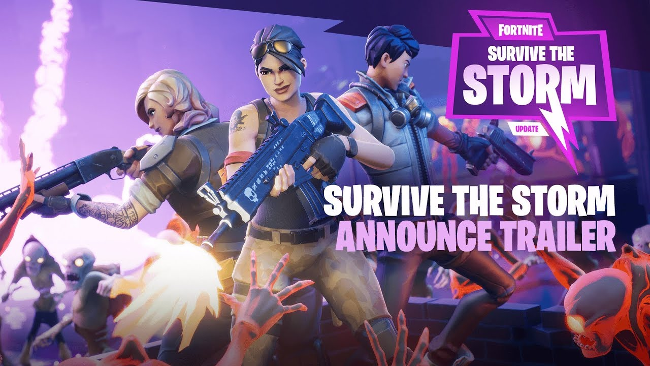 Survive the storm adds a new features to fortnite mentalmars - Fortnite save the world wallpaper ...
