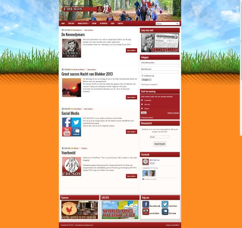 udi-sos webdesign by mentalmars