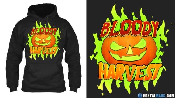 Bloody Harvest Halloween Hoodie
