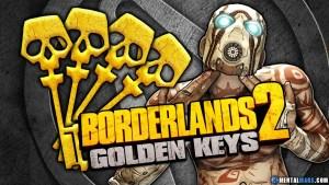 Borderlands 2 Shift Codes for Golden Keys