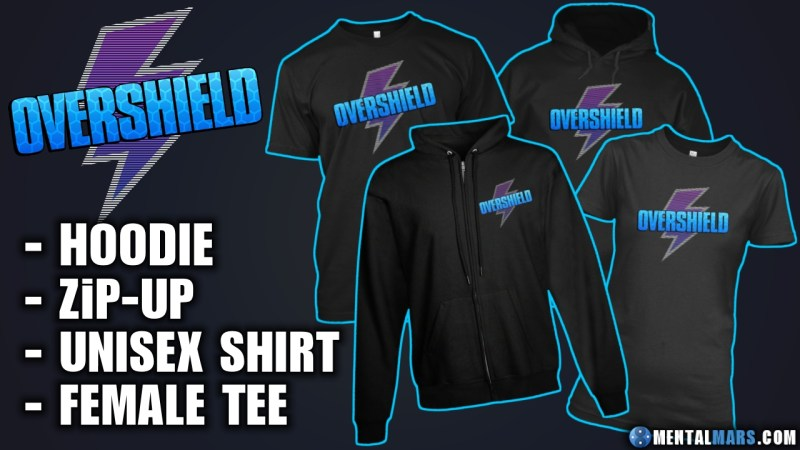 Overshield Gaming Merchandise