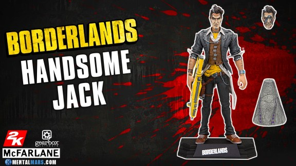 McFarlane Toys Borderlands Handsome Jack Action Figure