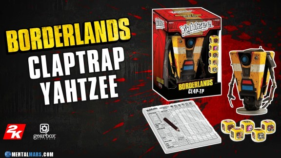 Yahtzee Borderlands CL4P-TP Game