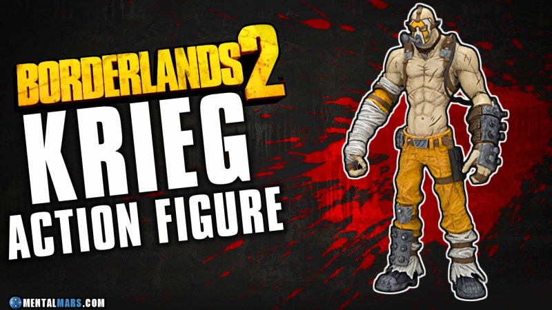 Krieg Action Figure - Borderlands 2
