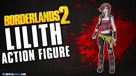 Lilith Action Figure - Borderlands 2