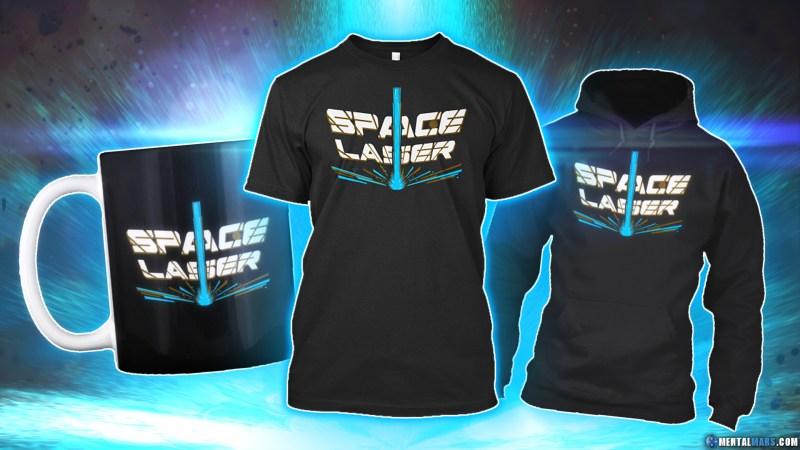 Space Laser Merchandise