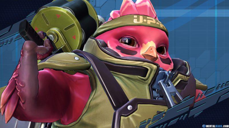 Ernest UPR Battleborn Character