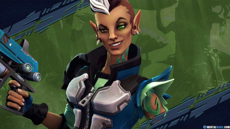 Mellka Eldrid Battleborn Character
