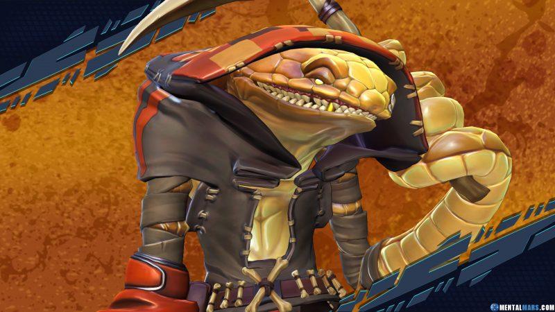 Pendles Rogue Battleborn Character