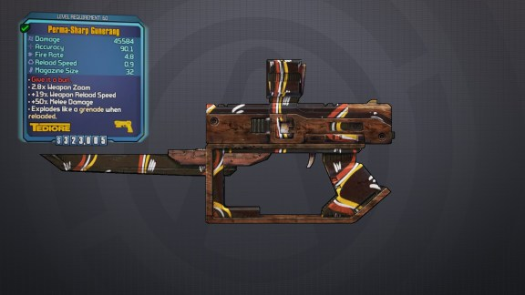 Legendary Gunerang - Borderlands 2
