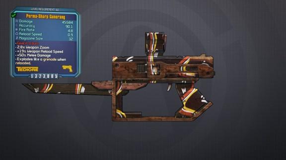 Legendary Gunerang - Borderlands 2