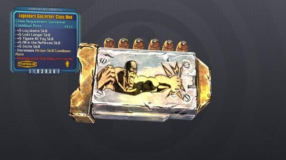 Legendary Gunzerker Class Mod - Borderlands 2