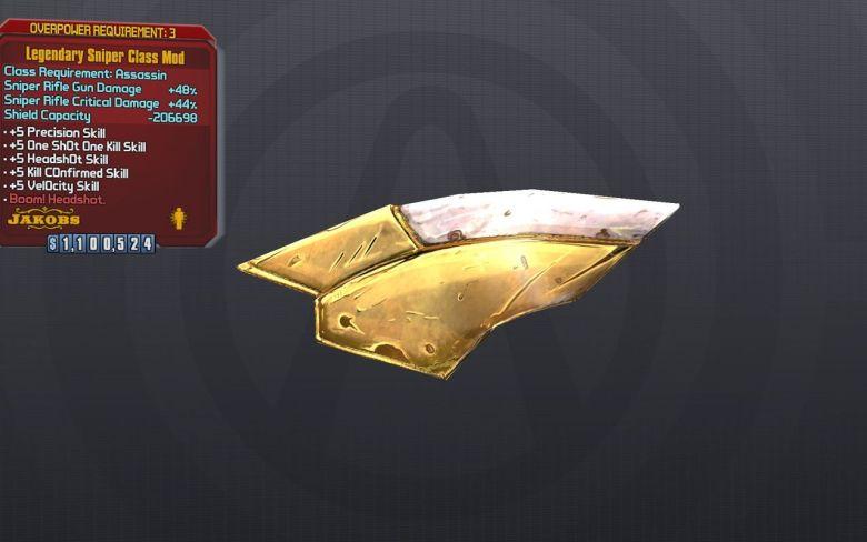 Legendary Sniper Class Mod - Borderlands 2
