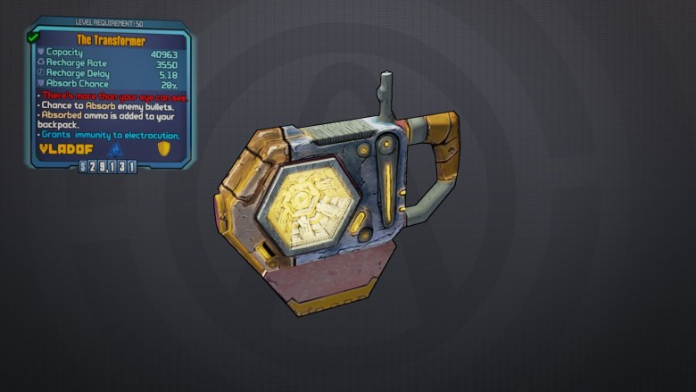 The Transformer - Borderlands 2 Legendary