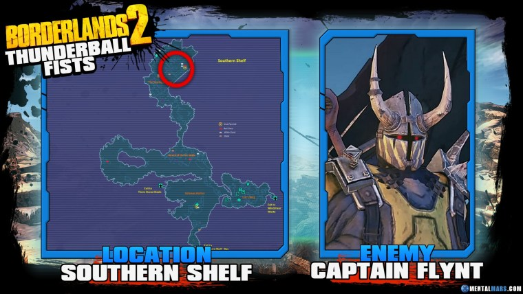 Borderlands 2 Legendary Thunderball Fists Location Guide