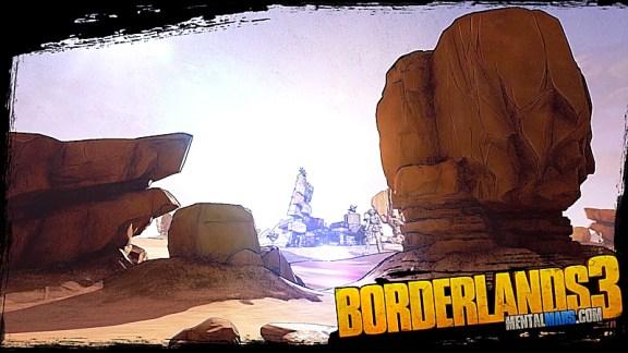 Badlands Wallpaper - Borderlands 3