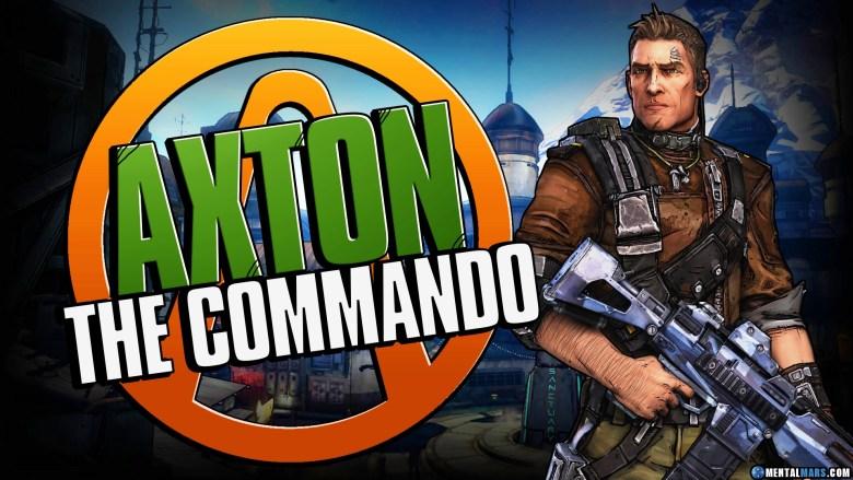 Axton the Commando - Borderlands 2