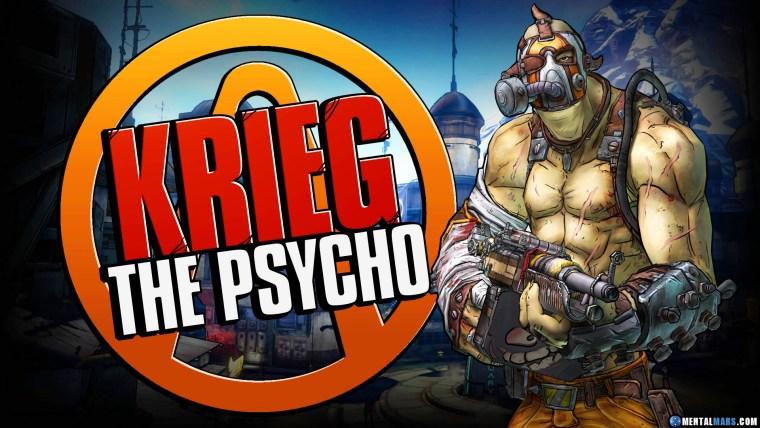Krieg the Psycho - Borderlands 2